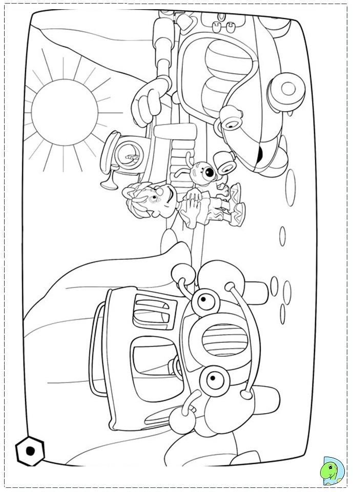 Engie Benjy Coloring page DinoKids