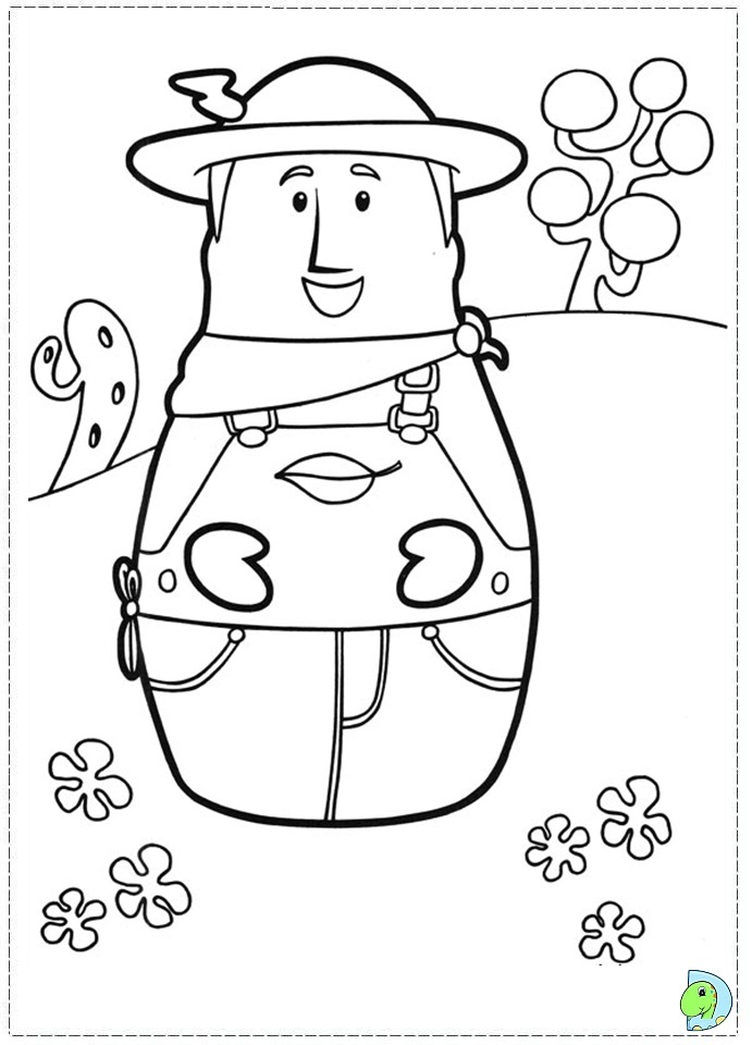 Higglytown heroes coloring page for Higglytown heroes coloring pages