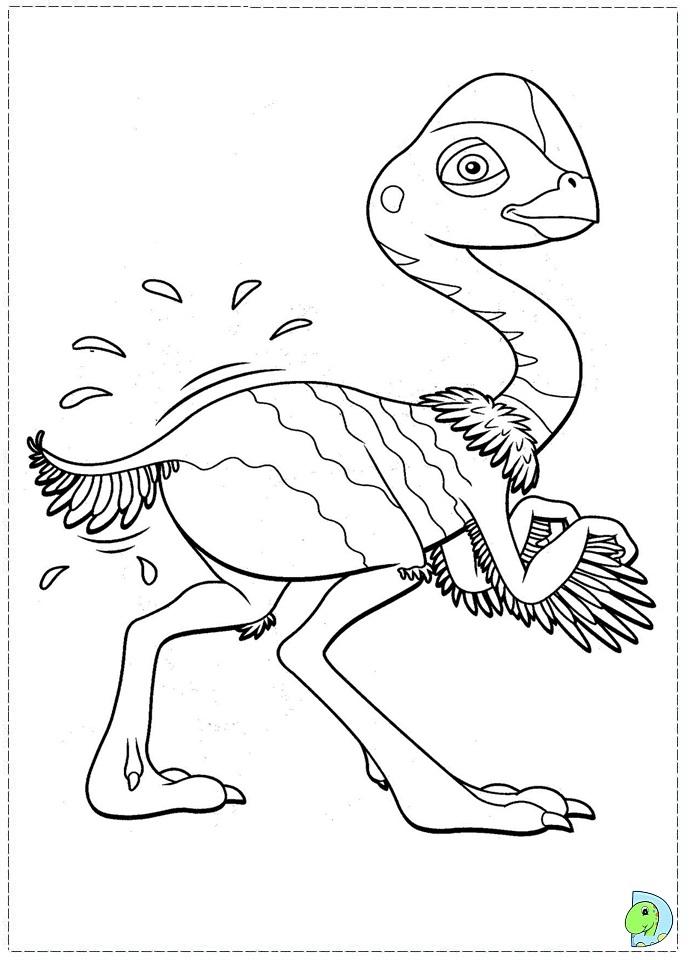 Dinosaur Train coloring page- DinoKids.org