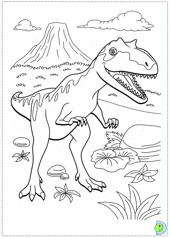 dinosaur train coloring pages shiny - photo#35