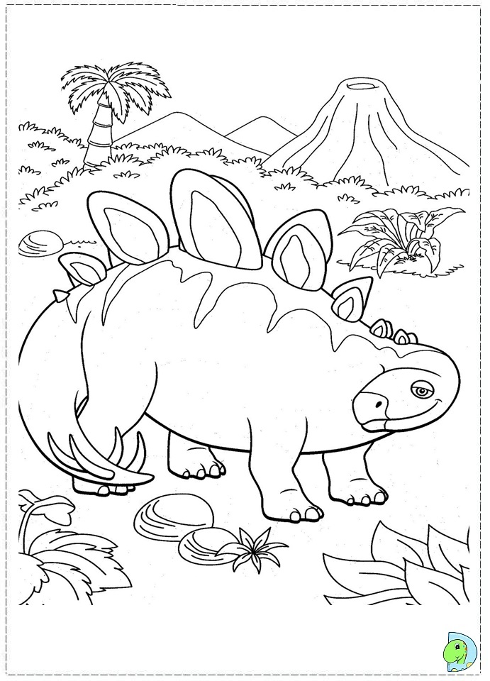 dinosaur train coloring pages shiny - photo#28