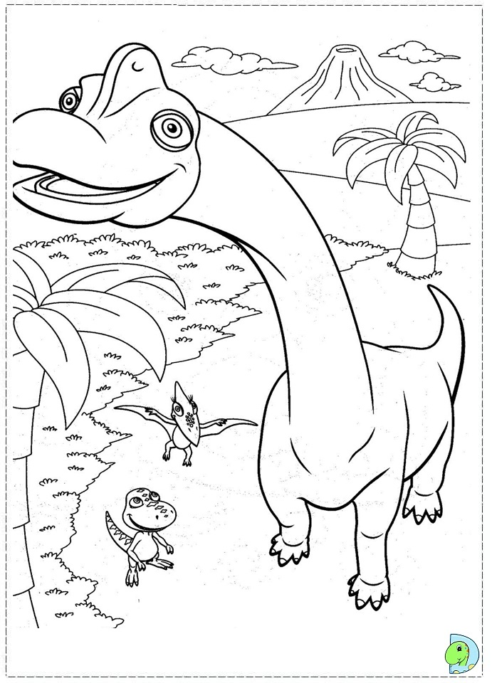 dino train coloring page. Black Bedroom Furniture Sets. Home Design Ideas