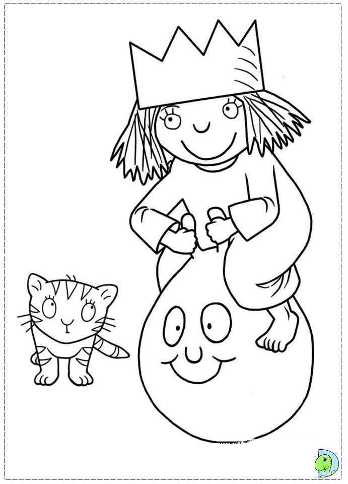 Littleprincess free colouring pages for Little princess coloring pages