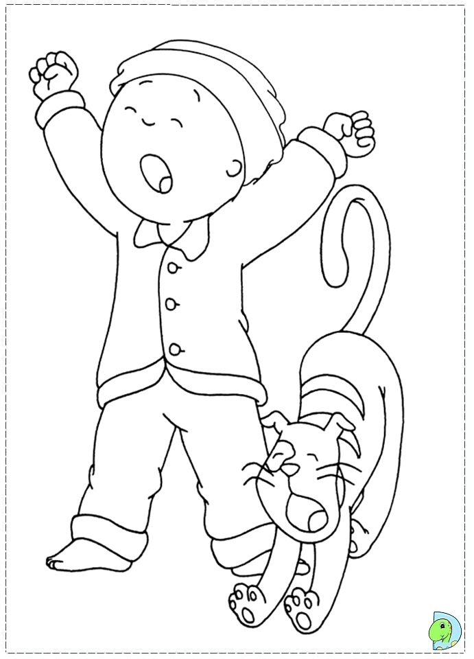 caillou gilbert coloring pages printable coloring pages home caillou