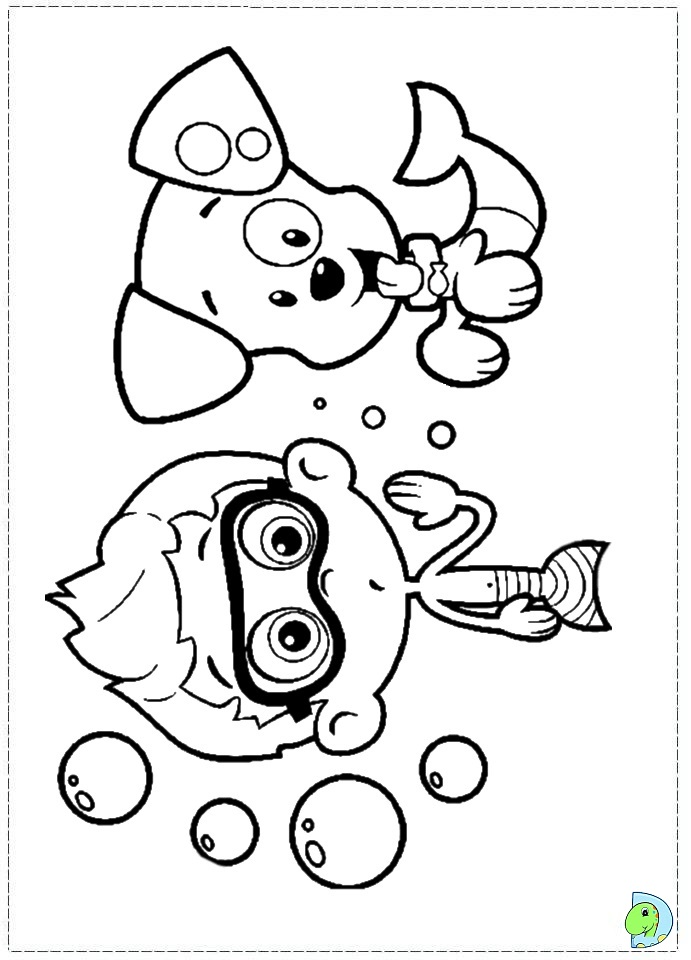 Nickelodeon bubble guppies coloring pages coloring pages for Bubble guppies coloring pages