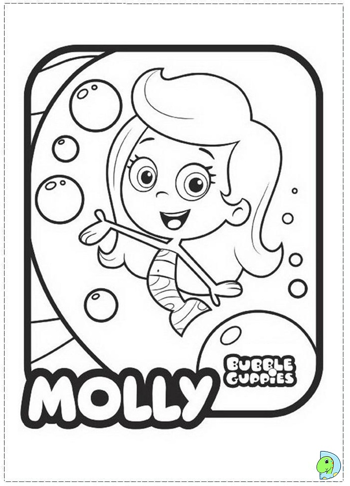 Bubble Guppies Coloring Pages - Best Coloring Pages For Kids | 960x691