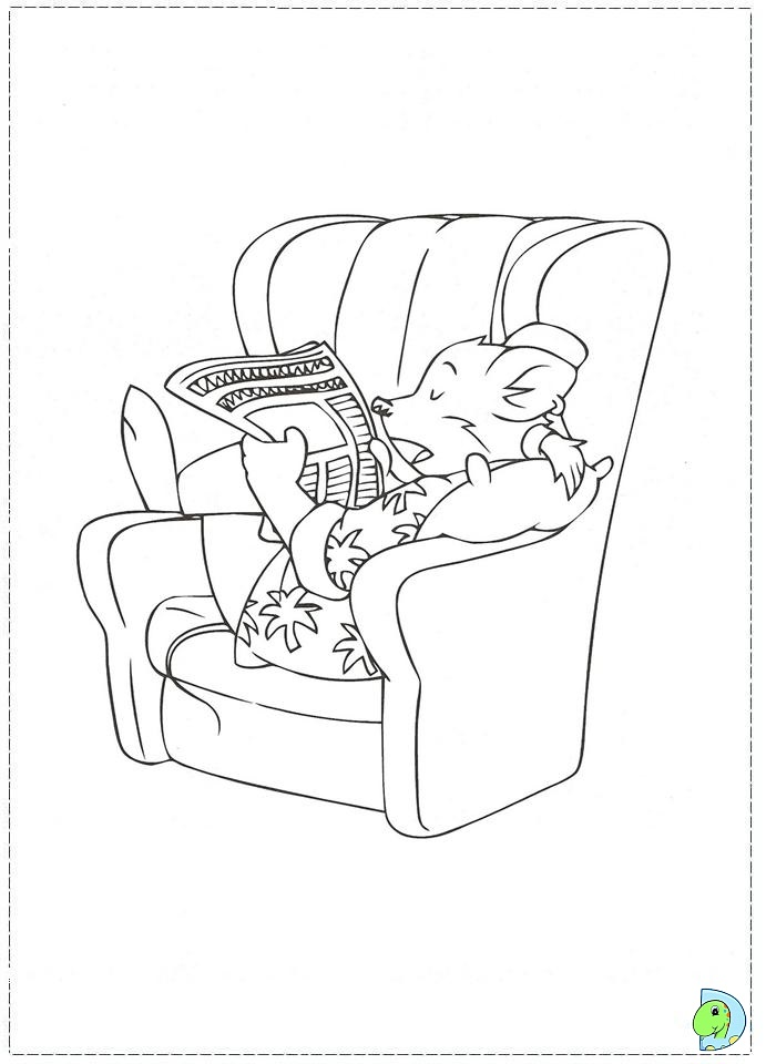 Thea Stilton Coloring Pages Coloring Pages Geronimo Stilton Colouring Pages