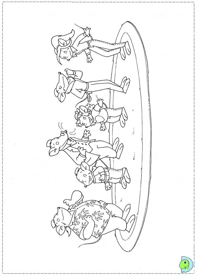 Free Coloring Pages Of Geronimo Geronimo Stilton Colouring Pages