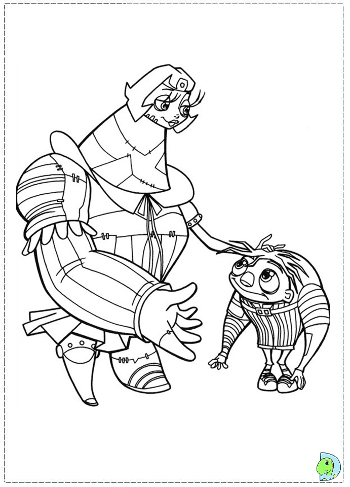 coloring pages for igore movie - photo#2
