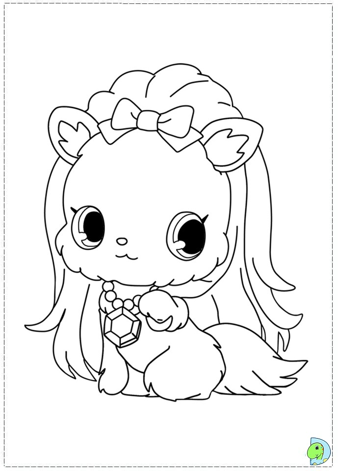 jewel coloring pages - shopkin all the characters coloring page coloring pages