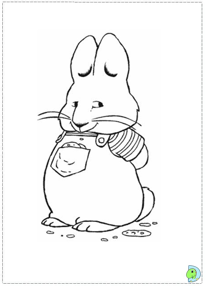 max and ruby coloring pages coloring page max max max max