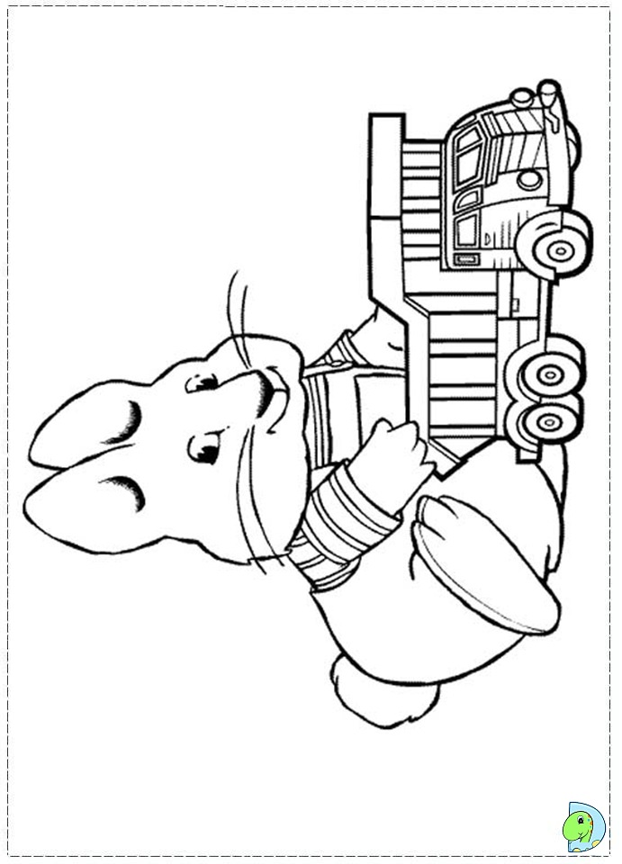 Free Coloring Pages Of Max And Ruby