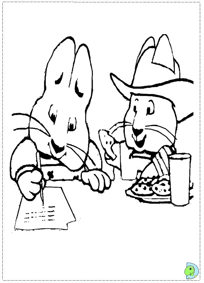 max and ruby coloring pages thanksgiving max and ruby coloringpages 23