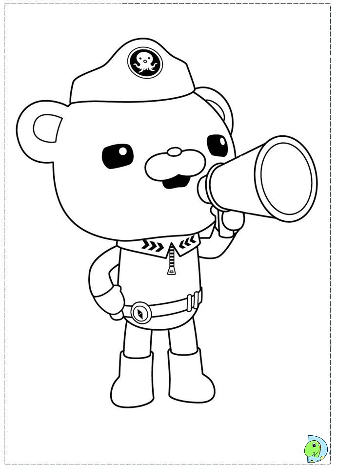 Free Coloring Pages Of Octonauts Peso Octonaut Colouring Pages