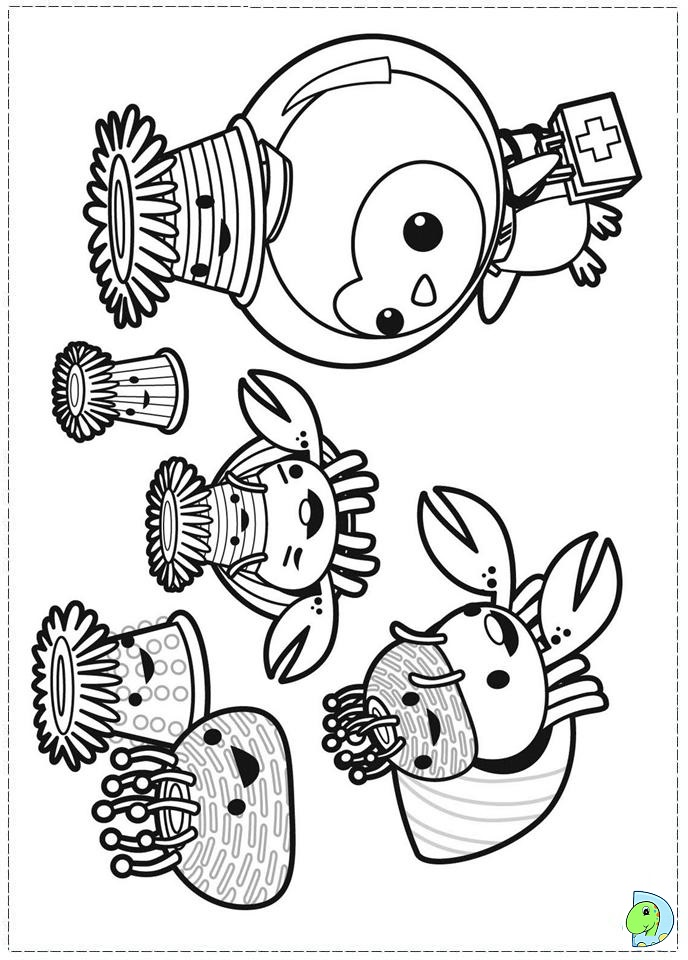 octonauts coloring pages all creatures - photo#30
