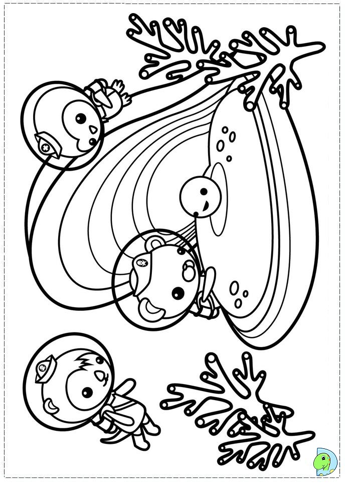 octonauts coloring pages bbc - photo#10