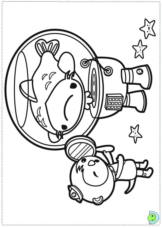 Octonauts Tweak Coloring Pages Www Imgkid Com The Octonaut Colouring Pages