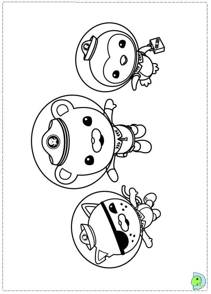 Octonauts Tweak Coloring Pages Www Imgkid Com The Octonauts Colouring Pages
