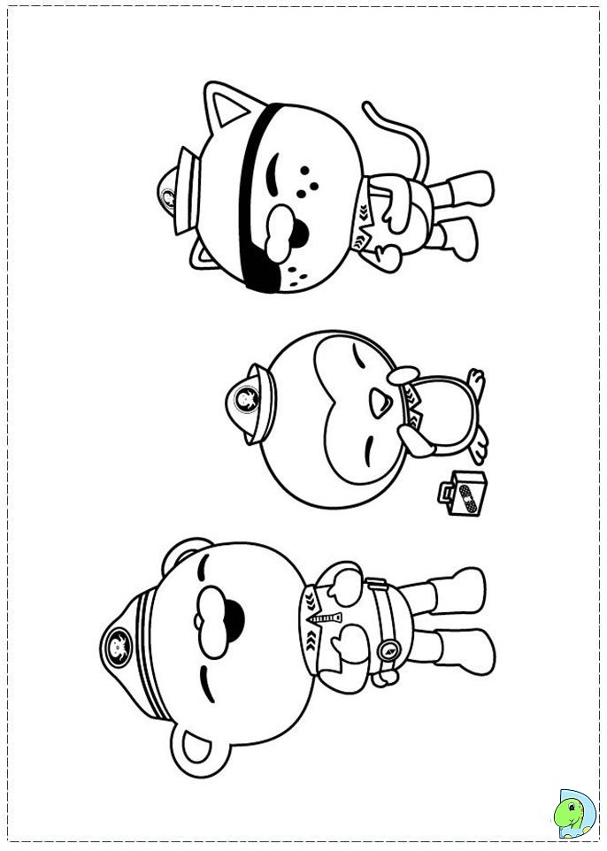 octonauts coloring page- dinokids.org - Octonauts Coloring Pages Print