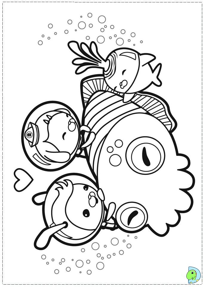 Gup c coloring pages