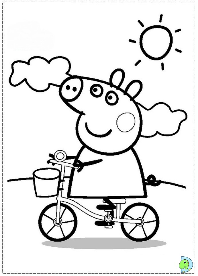 Peppa pig fairy free printable coloring pages peppa best for Coloring pages peppa pig
