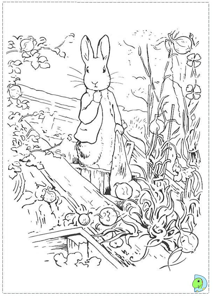 Peter Rabbit Nick Jr Coloring Pages Coloring Pages