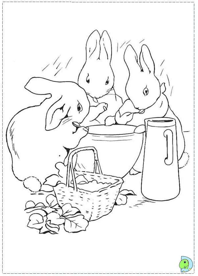 Jemima Puddle Duck Coloring Pages