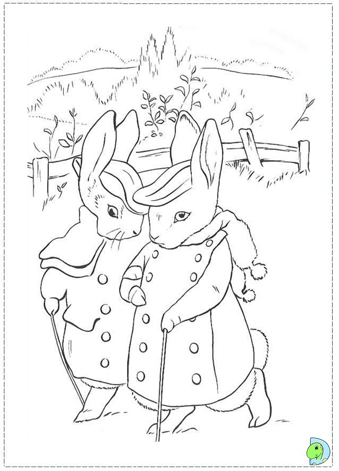 coloring pages magician with bunny - photo#24