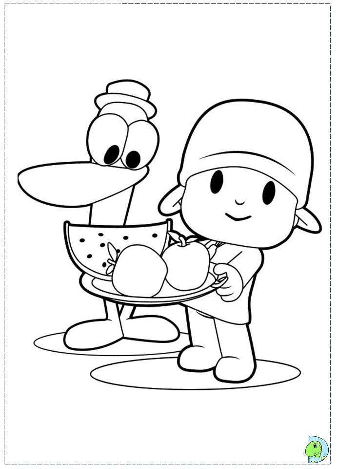 Tv coloring pages