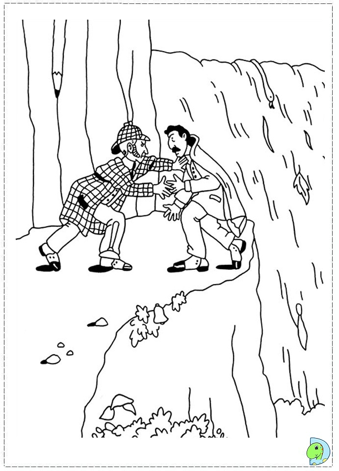 sherlock coloring pages - photo#20