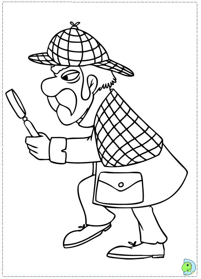 sherlock coloring pages - photo#35