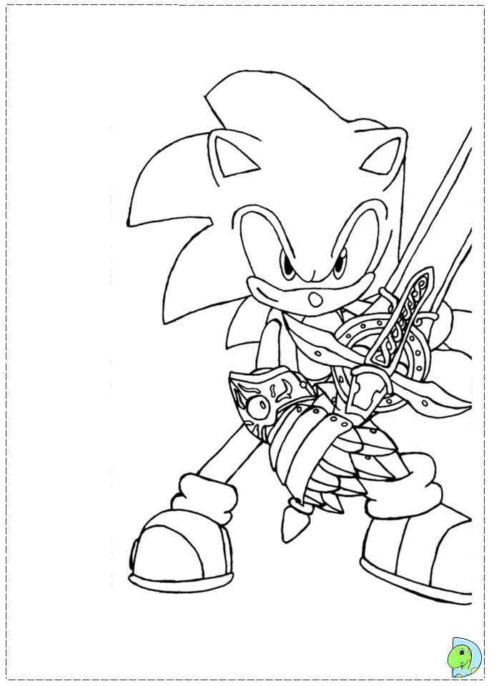 sonic x amy coloring pages - photo#25