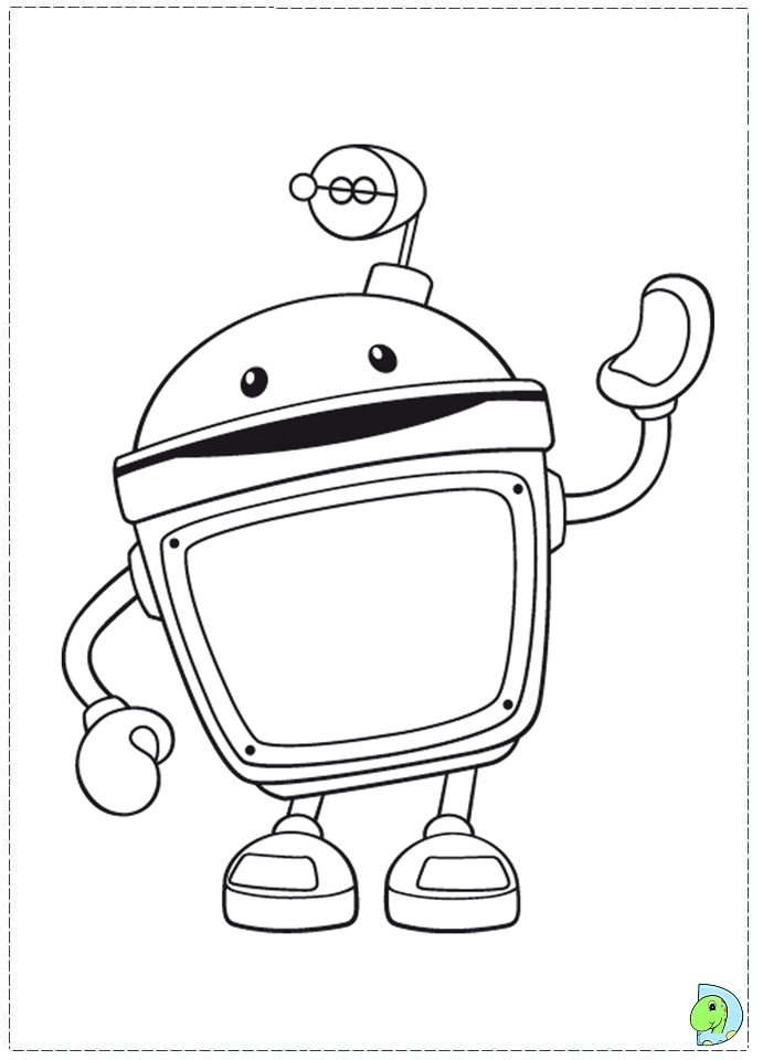 Umizoomi Coloring page- DinoKids.org
