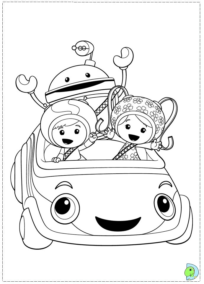 team umizoomi coloring pages print - photo#7