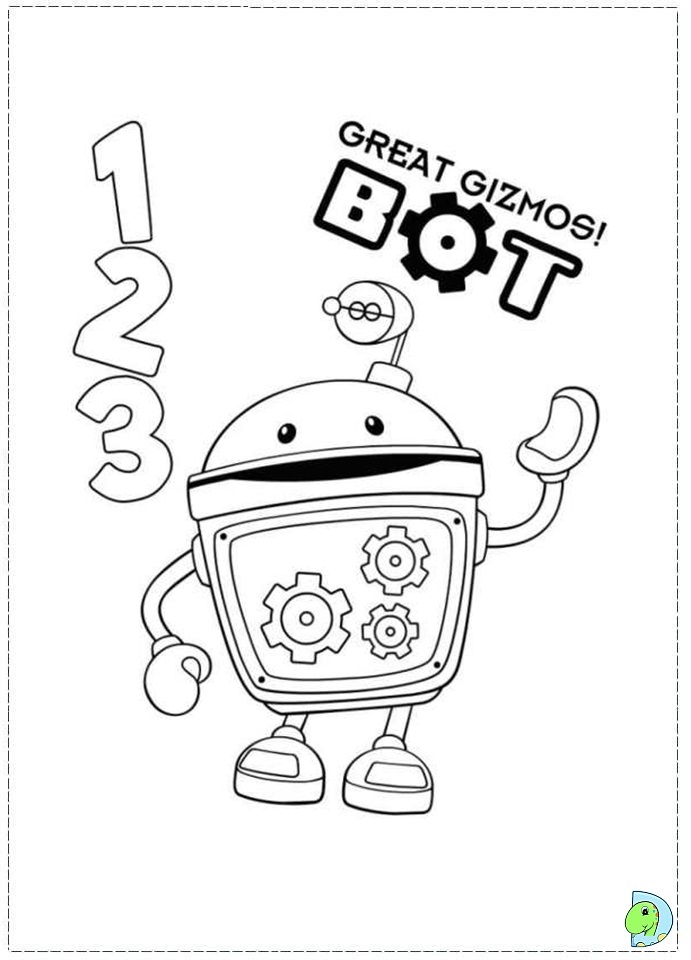 free coloring pages of desenhos umi zoomi