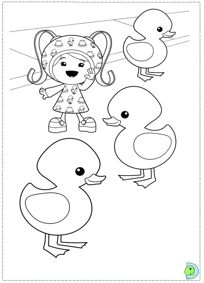 team umizoomi coloring pages print - photo#19