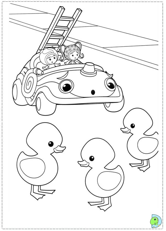 free coloring pages of umi