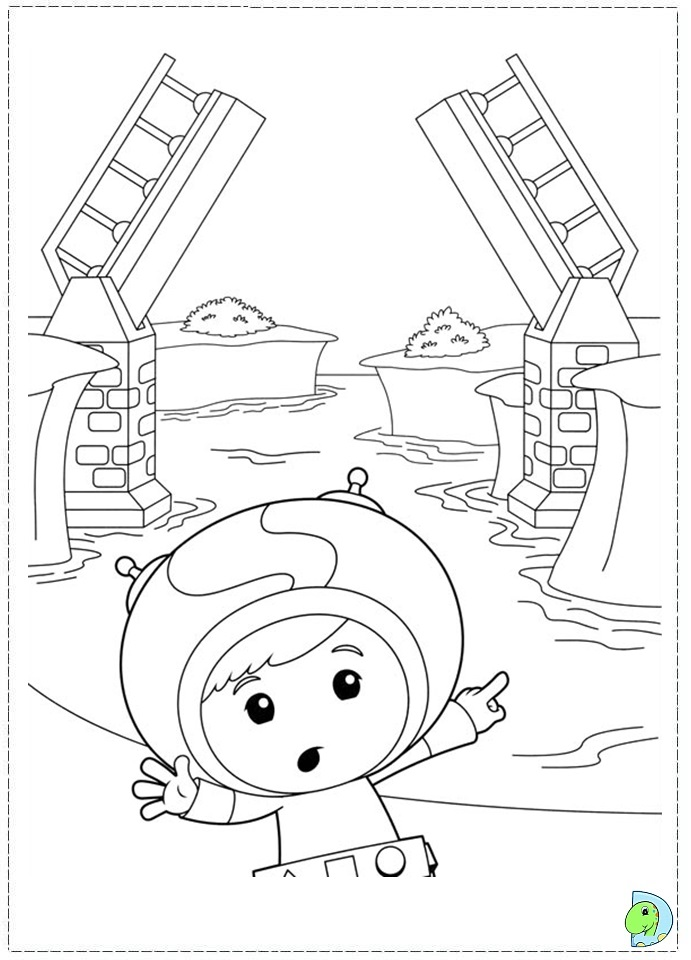 Umizoomi coloring page for Team umizoomi printable coloring pages