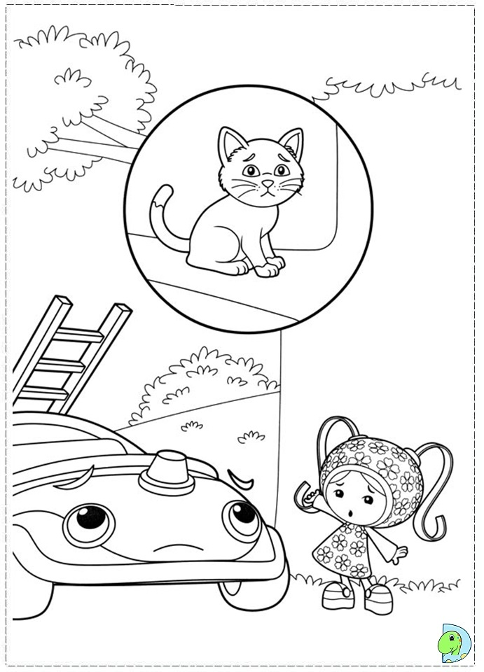 team umizoomi coloring pages free. download team umizoomi coloring ... - Team Umizoomi Bot Coloring Pages