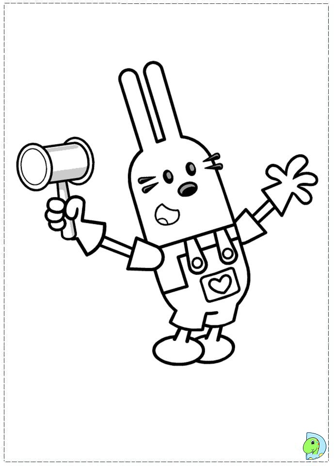 wa wa wubbzy coloring pages - photo #7