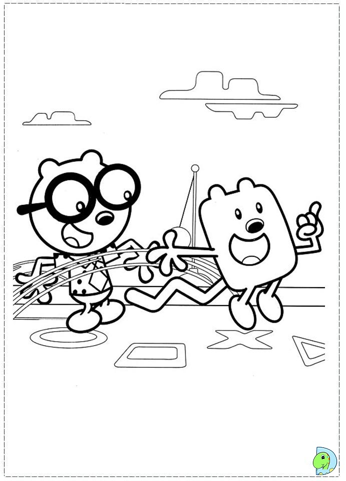 the wubb girlz coloring pages - photo#41