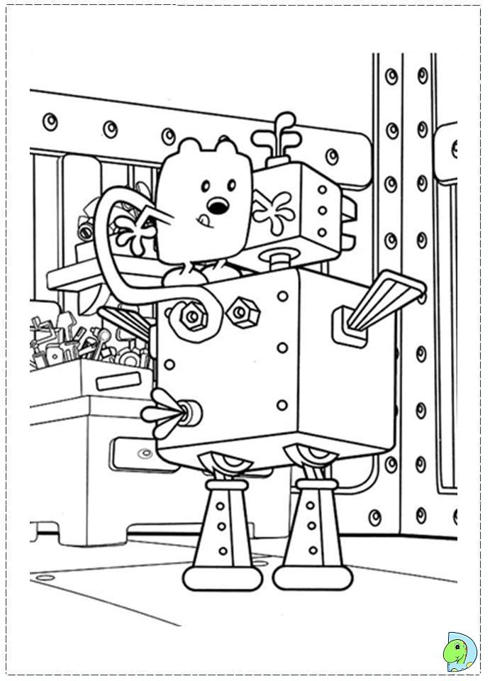 the wubb girlz coloring pages - photo#18