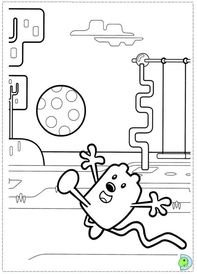 wa wa wubbzy coloring pages - photo #38