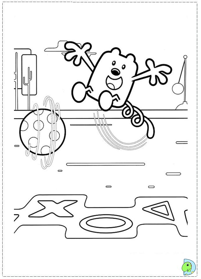 the wubb girlz coloring pages - photo#20