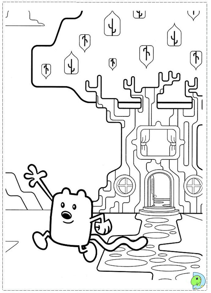 wa wa wubbzy coloring pages - photo #48