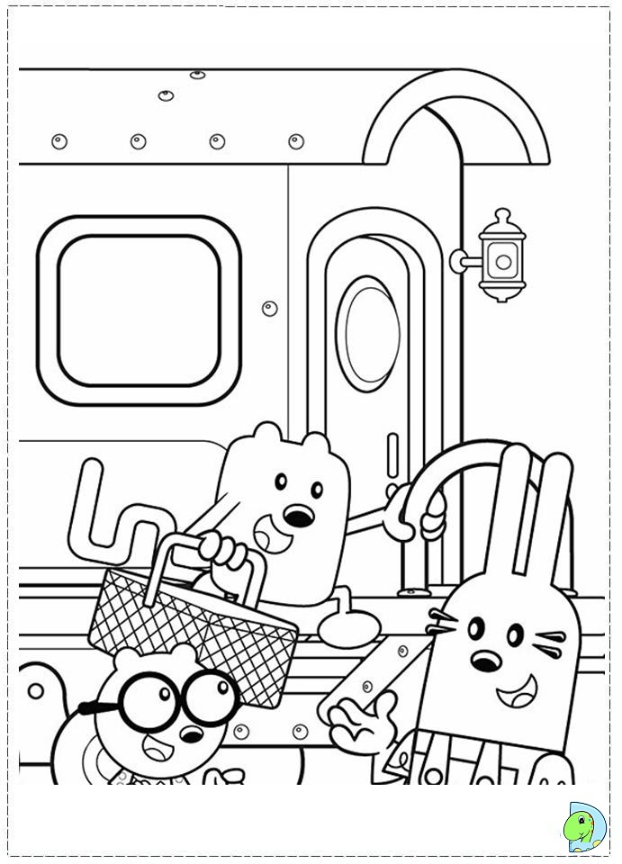 wa wa wubbzy coloring pages - photo #25