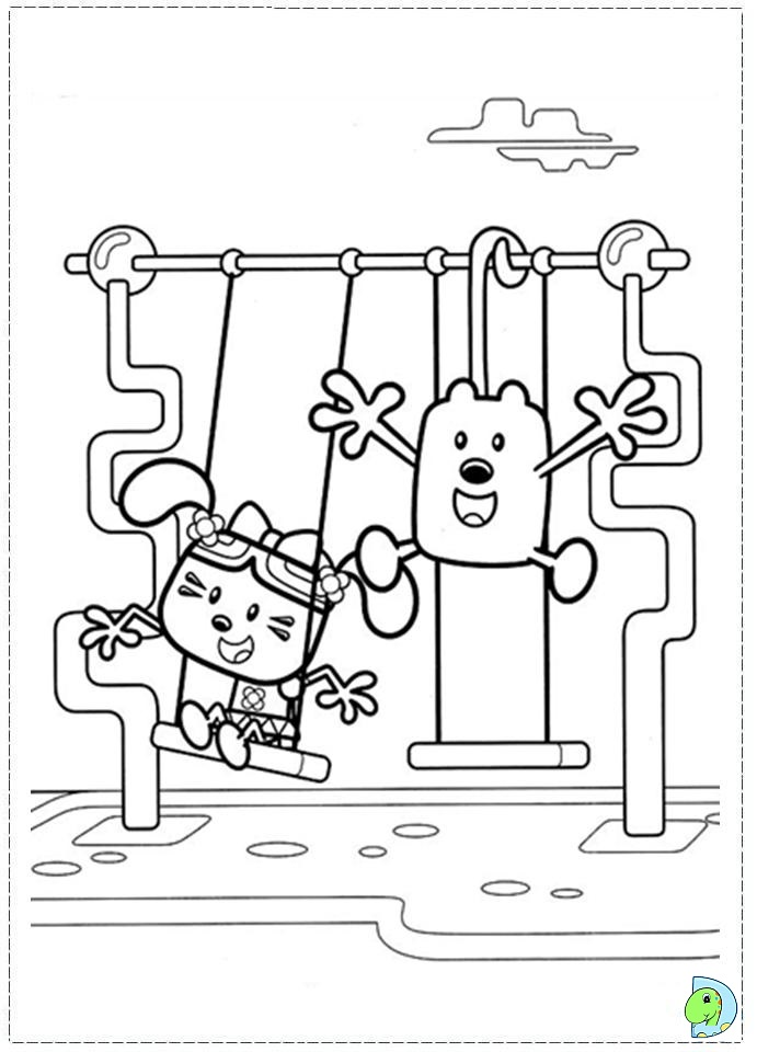 Fun Coloring Pages: Wow Wow Wubbzy Coloring Pages | 960x691