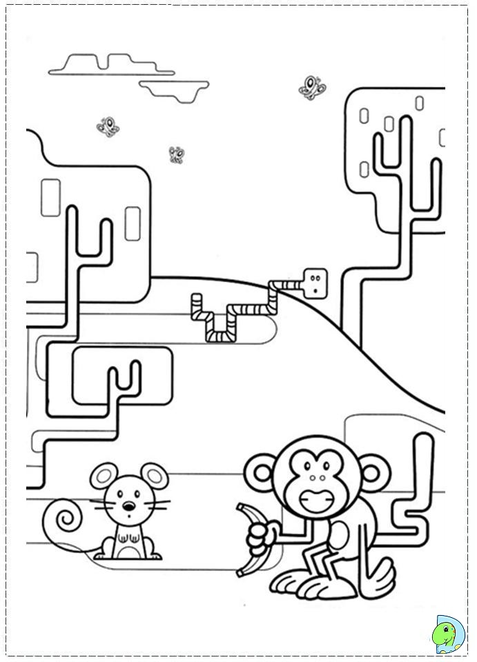 wa wa wubbzy coloring pages - photo #33