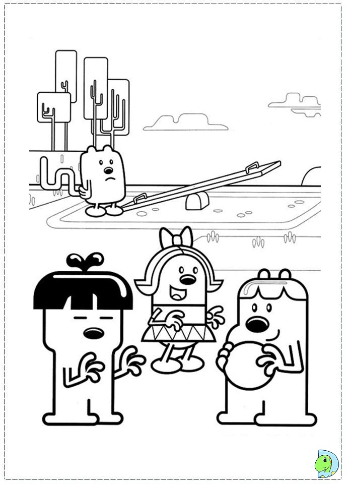 wa wa wubbzy coloring pages - photo #44