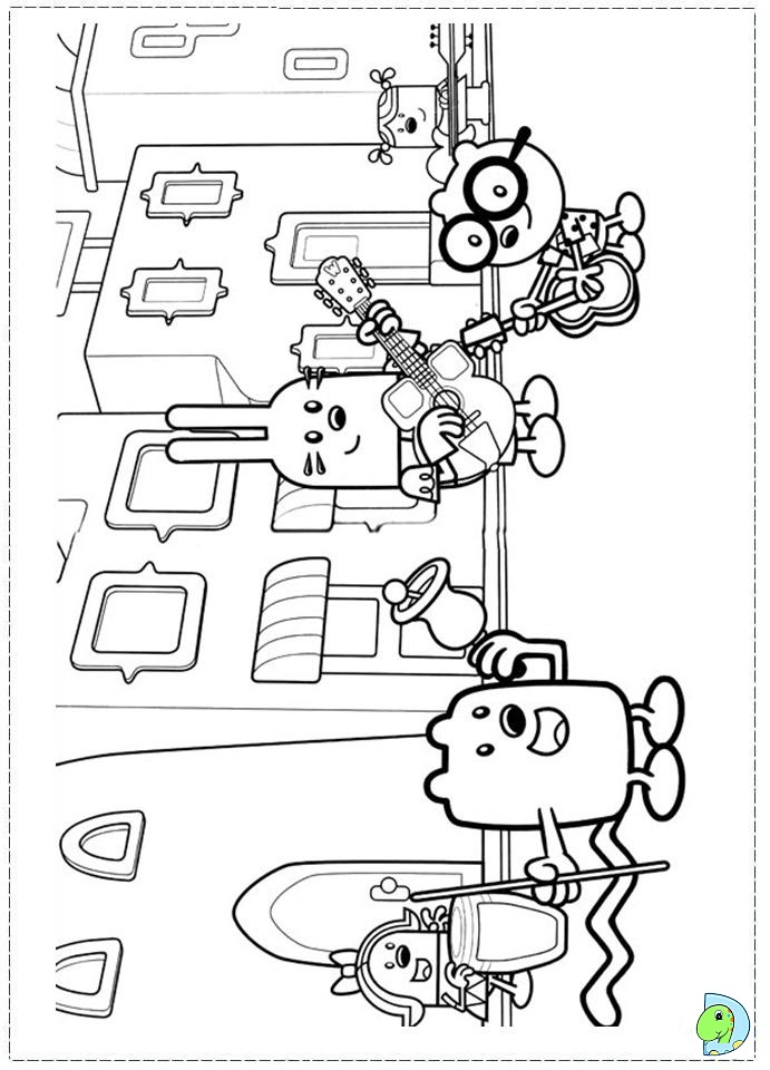 wa wa wubbzy coloring pages - photo #42
